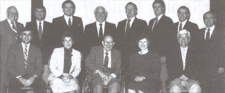 Founding Board Of Governors 1986